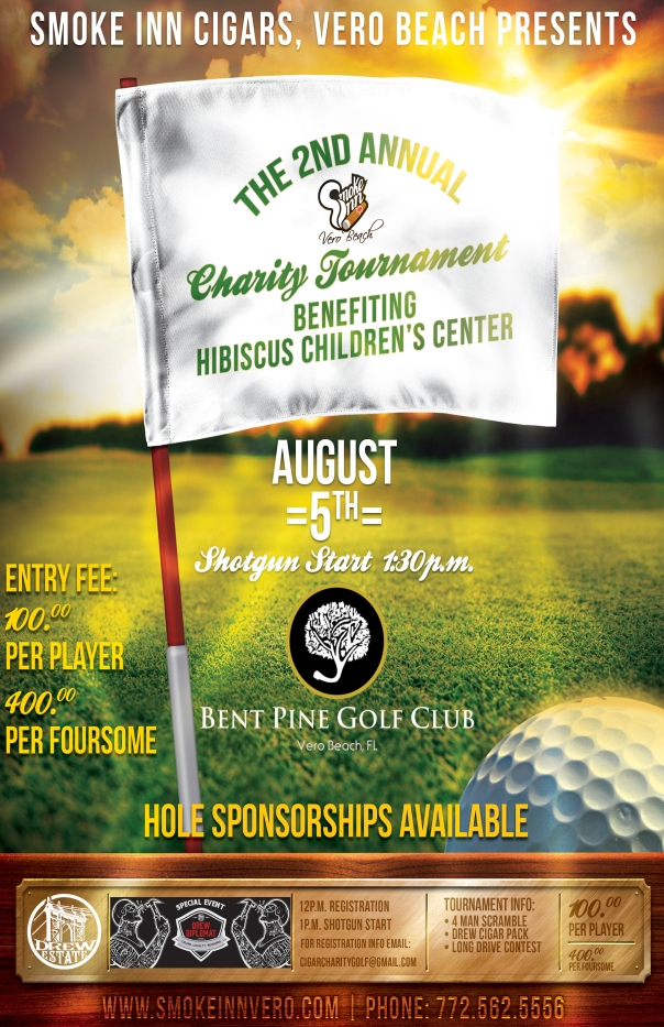 Drew Estate Charity Golf